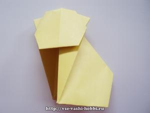 Оригами-котенок. Мастер-класс