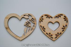 Декор сердечек
